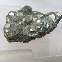 "Pyrite Cluster Specimen 3.5""x2.75""x1"" 340g - $20.90"