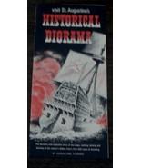 Historical Diorama, St. Augustine, Florida, Vintage Informational Tour P... - $2.96