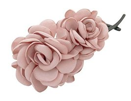 Twist Clip Banana Clip Hair Ornaments Vertical Hairpin ,Pink