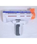 Nerf N-Strike Elite Retaliator Parts - Barrel And Grip White Orange Blue - $19.59