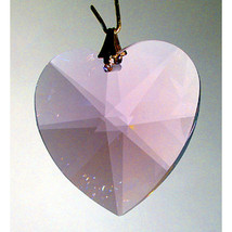 Swarovski Crystal Faceted Heart Prism image 3