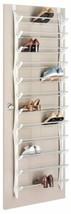 Folding Bar Over Door Shoe Sandal Flip Flop Shelf Rack Storage Organizer... - €60,40 EUR