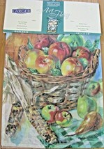 "Outdoor Garden Flag 12.5"" X 18"" Fall Harvest Decorative Flag Seasonal NEW  - $9.89"