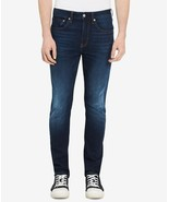 Calvin Klein Men's Skinny Moulant Jeans Houston Dark TI Size 40 X 30 - $45.53