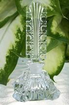 "Vintage Czech Perfume Bottle~Dauber~Signed~3.5""~Square Bottle~Perfect Co... - $207.99"