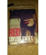 TAYLOR SWIFT RED APPLE IPAD CASE COVER FITS IPAD2 AND IPAD3 NEW NEVER OP... - $11.30