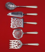 William and Mary by Lunt Sterling Silver Brunch Serving Set 5pc Custom Made - $359.00