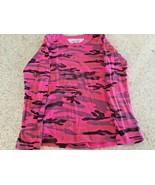 Girl's T2LOVE Pink/Purple Long Sleeve Tye Dye Tee Shirt (6) - $14.96