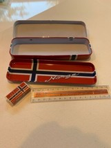 Norway Pencil Case Set School Kids Stationary Preowned - $10.00