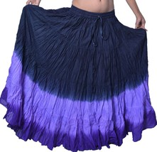 ATS Tribal Belly Dance Multi Color & Yard Jaipur New Gypsy Skirt - $39.26 CAD+