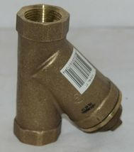 Legend Valve One Inch Pipe Y Strainer Lead Free Brass 105 505NL image 3