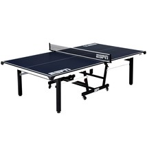 ESPN Official Size 2 Piece Table Tennis Table with Table Cover Premium Net - $469.99