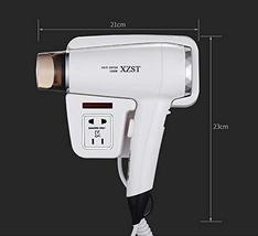 XZST New Type Hotel Bathroom And Home Wall Mount Hair Dryer Dry Skin Hanging Hai image 8
