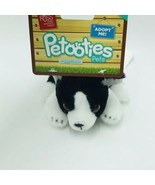 "Russ Petooties Pets Boston Terrier Puppy Friends 5"" Beanbag Plush Adopt ... - $14.99"