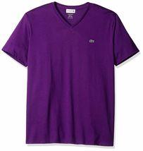 Lacoste Men's Premium Pima Cotton Sport Athletic Jersey V-Neck Shirt T-Shirt image 7