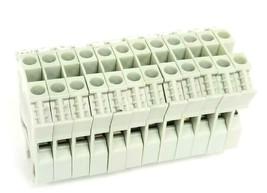 LOT OF 12 SPRECHER & SCHUH VR 2-6 TERMINAL BLOCKS 16-8AWG 600V 55A image 1