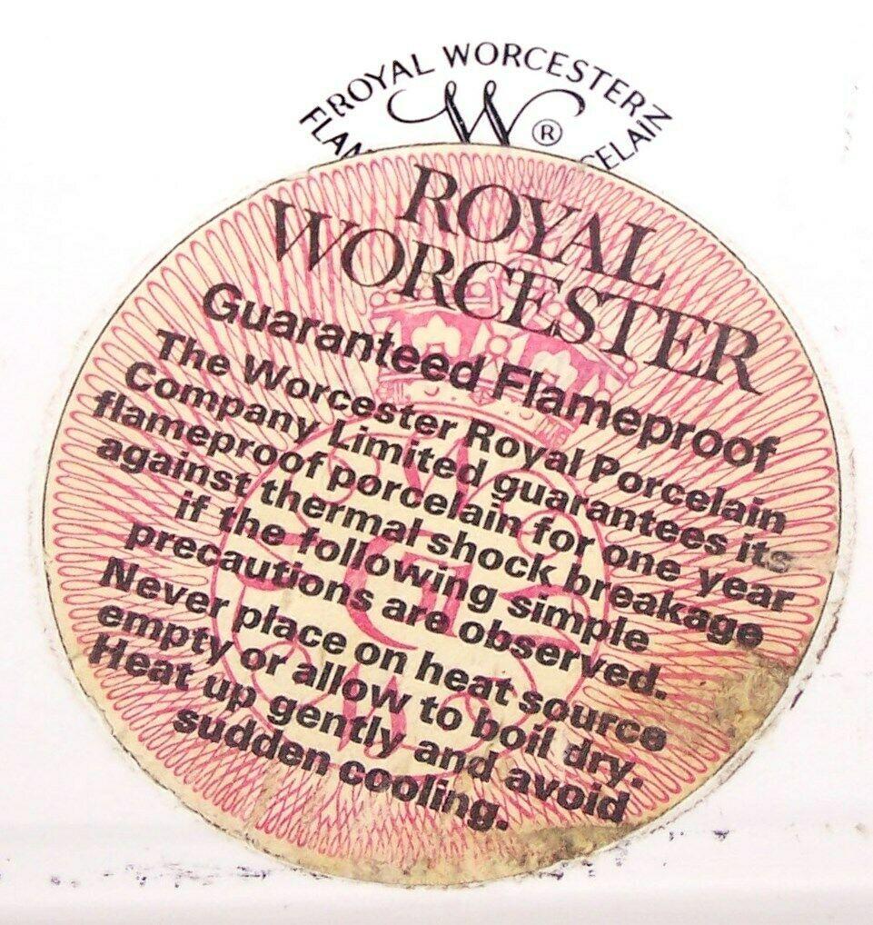 "LOVELY ROYAL WORCESTER PORCELAIN EVESHAM GOLD 10"" RECTANGULAR BAKER"
