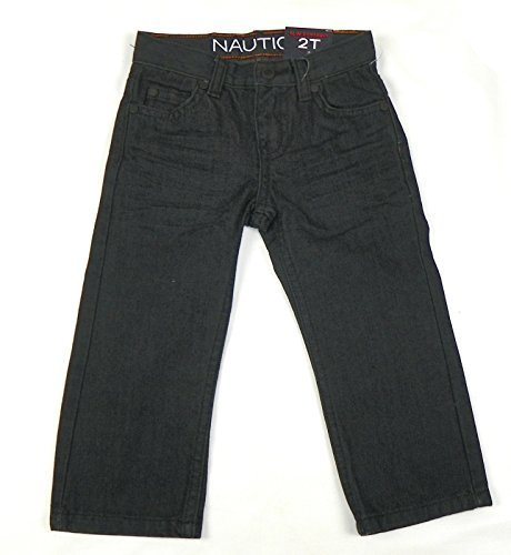 Nautica Infant Toddler Boys' Slim Straight Jeans, Admiral Blue (2T)
