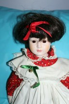 """Vintage Macy's Schmid Musical Doll Toy 1987 B.C.D No 1 Plays Cats Theme 18"""" - $29.69"""