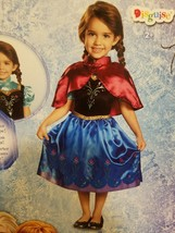 Anna Traveling Gown Disney Frozen Fancy Dress Toddler Child Costume phot... - £13.21 GBP