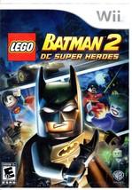 Wii Game - LEGO Batman 2 DC Super Heroes - $10.00