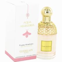 Guerlain Aqua Allegoria Flora Nymphea Perfume 2.5 Oz Eau de Toilette Spray image 1