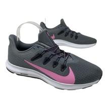 NIke Women's 11 Quest 2 Running Shoes Cool Grey CJ6696-004 Psychic Pink ... - $58.19
