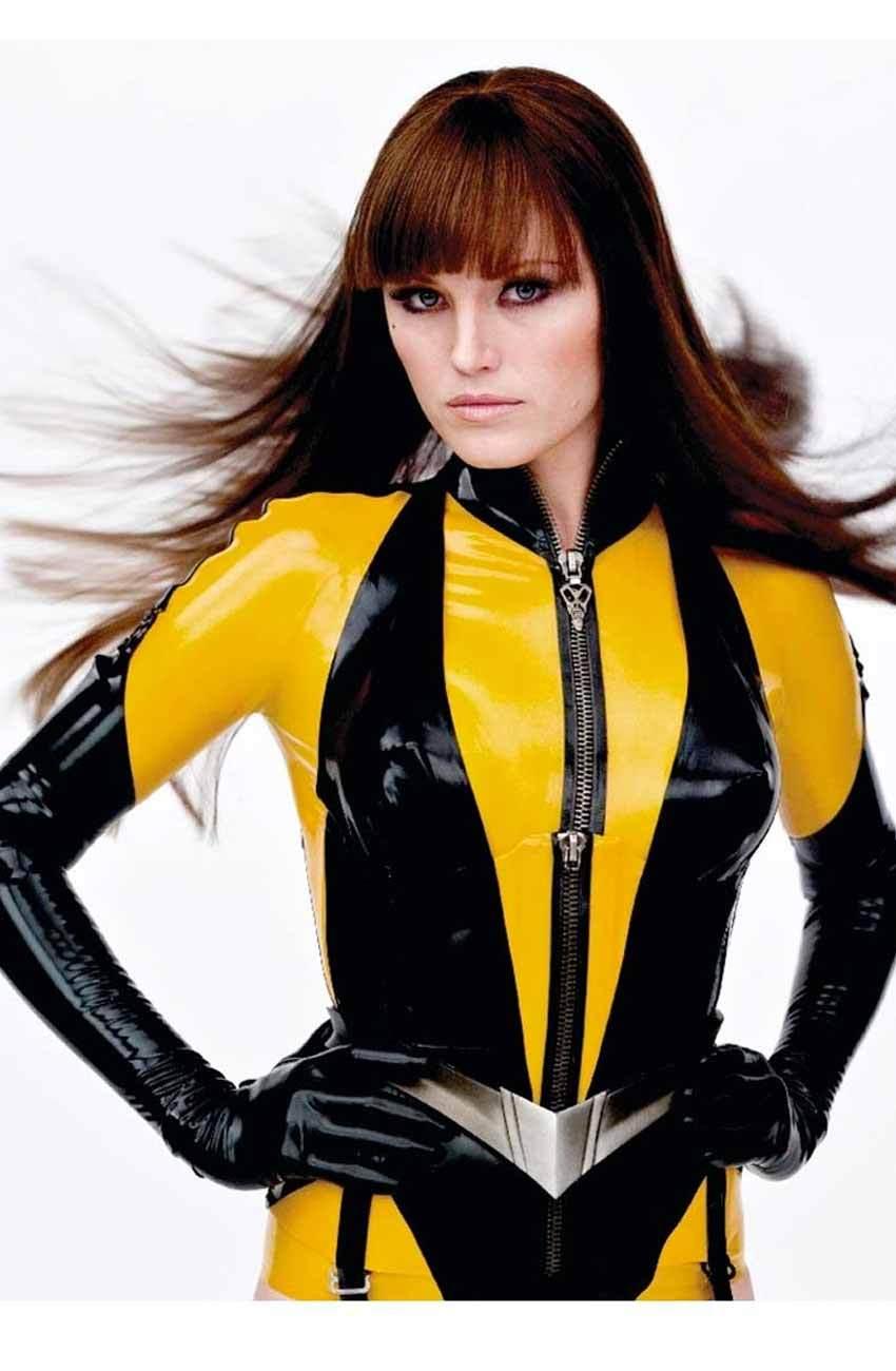 Silk spectre costume latex
