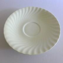 Royal Doulton White Cascade Saucer Orphan Soup Bowl Cup English Bone China H5073 - $9.64