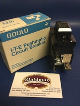 1 - New 20 Amp Pushmatic Bulldog Gould ITE Siemens P220 Double or 2 Pole Breaker - $75.19