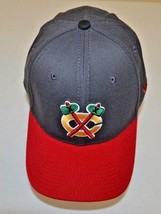 Chicago Blackhawks Nhl New Era Fitted M-L Baseball Hat Cap One Size - $14.84
