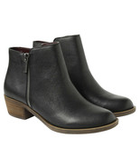 New Kensie Women's Black Leather Ghita Short Ankle Boots 6.5 9.5 7.5 8.5... - $15.00+