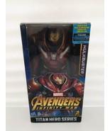 "Marvel Avengers 3 Infinity War Titan Hero Series Hulkbuster 12"" Hulk Bus... - $74.08"