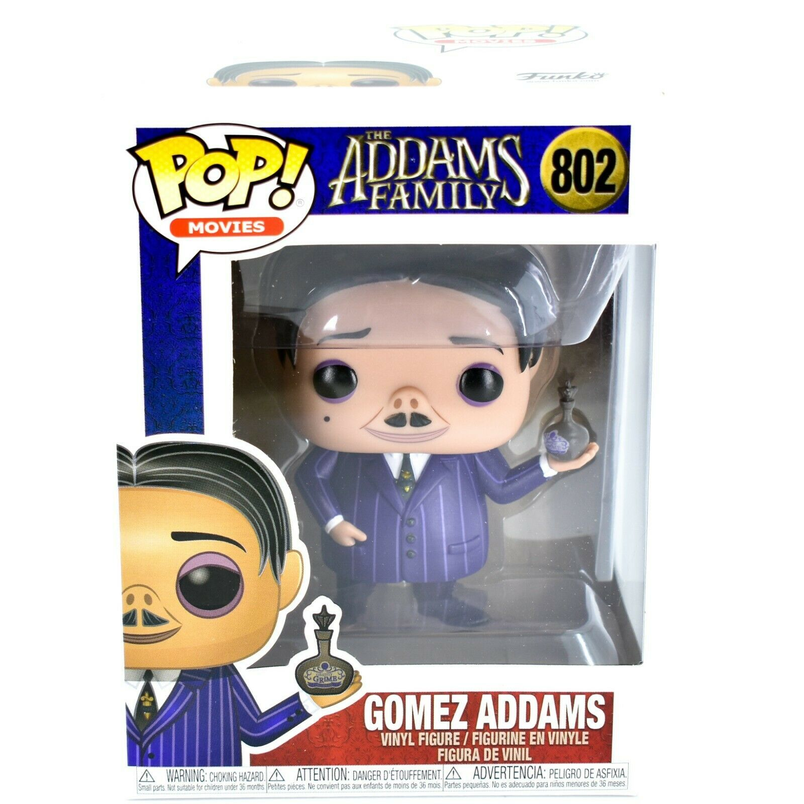 Funko Pop! Movies The Addams Family Gomez Addams #802 Vinyl Figure