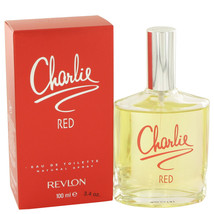 CHARLIE RED by Revlon Eau De Toilette Spray 3.3 oz - $17.95
