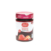 Greek PAPAGEORGIOU  STRAWBERRY JAM  60% fruit 420g with all their natura... - $29.39