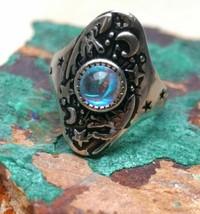 Occult Witchcraft ~ Angelic Marid  jinn ring~Pagan Djinn VESSEL SUCCESS ... - $40.93