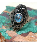 Occult Witchcraft ~ Angelic Marid  jinn ring~Pagan Djinn VESSEL SUCCESS ... - $40.93