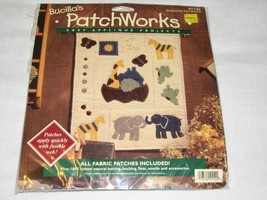 Bucilla's Patchworks Applique Project Kit Trice Boerens Noah's Ark Animal Needle - $27.99