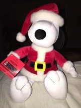 "Hallmark Santa Snoopy  Plush  Peanuts Collection  15""   NWT  New - $14.84"