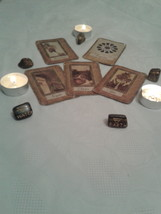 Deste Reading with FIVE CARDS. Katina's cards Divination - $12.99