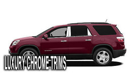 GMC Acadia Denali Stainless Chrome Pillar Posts by Luxury Trims 2007-201... - $76.38