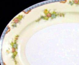 Meita China Large Serving Platter~ Japan Hand Painted AA19-1525 Vintage image 3