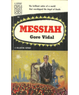MESSIAH Gore Vidal - Science Fiction - NEW RELIGION REPLACES CHRISTIANITY - $4.95
