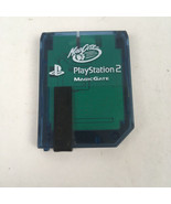 MadCatz Sony Playstation 2 Blue Magic Gate 8MB Memory Card PS2 2000 Unte... - $6.98