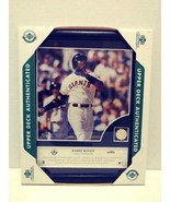 Barry Bonds Game Used Baseball Plaque Upper Deck Authenticated Collectibles - $34.99