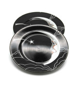 Fitz & Floyd China Stardust Salad Dessert Plate Man In the Moon Two One ... - $32.73