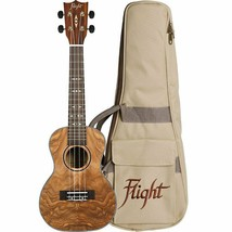 Flight Quilted Ash Concert Ukulele Supernatural Series – DUC410 QA - $159.99