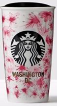Starbucks 2016 Washington DC Cherry Blossoms Double Wall Tumbler Brand New - $59.95