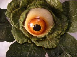 Bethany Lowe Halloween Errie Eyeball Lettuce no. TD9060 image 1